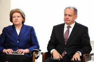Prof. Dr. Hanna Suchocka, Präsident Andrej Kiska